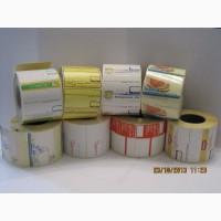 Термоєтикетка, самоклеющаяся этикетка материа ТОР и ЭКО