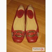 Оригинальные женские кожаные балетки Nine West (США), размер 9W (40) (26 см)