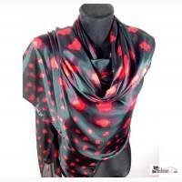 Шелковый шарф, цвета в наличии