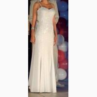 Продам белое вечернее платье