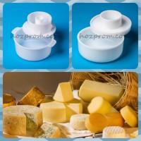 Профессиональная форма с поршнем для твердых сыров 1 кг. и 2 кг
