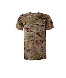 Фото 2. Армейские камуфляжные футболки