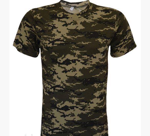 Фото 3. Армейские камуфляжные футболки