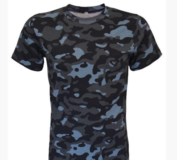 Фото 4. Армейские камуфляжные футболки