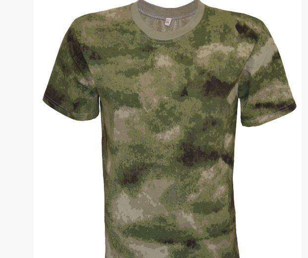 Фото 6. Армейские камуфляжные футболки