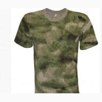 Армейские камуфляжные футболки