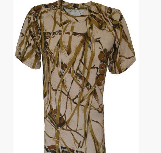Фото 7. Армейские камуфляжные футболки