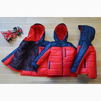 Демисезонная куртка для мальчика, три цвета