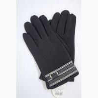 Мужские перчатки трикотаж на меху