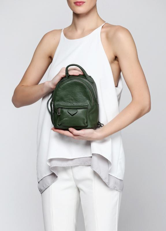 Фото 3. BAL-470001, Сумка-рюкзак зеленый, женский, зеленый