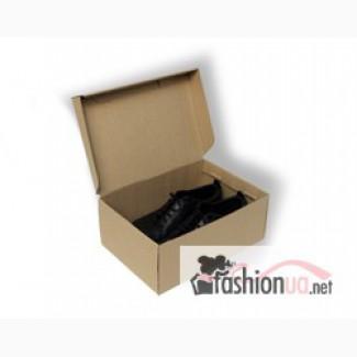 Коробка для обуви 325х210х115 бурая