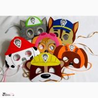 Карнавальные маски по мультфильму Щенячий патруль