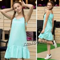 Модные и стильные летнее платье и сарафан для девочки. Суперкачество