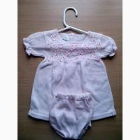 Платье и шортики для маленькой девочки