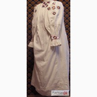 Закарпатська стародавня жіноча сорочка (довганя)