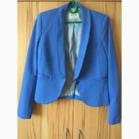 Продам женский пиджак синего цвета 38 р