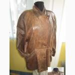 Стильная женская кожаная куртка. Лот 467