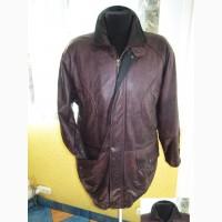 Тёплая кожаная мужская куртка ANGELO LITRICO. Италия. Лот 544