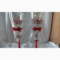 Свадебные бокалы Орнамент (Чехия), 190 мл