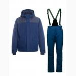 Зимняя спецодежда куртка утеплённая парка мембрана штаны на подтяжках