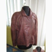 Стильная женская кожаная куртка-косуха New Fast (CA). Голландия. Лот 158. Винтаж