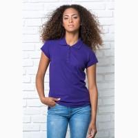 Женская футболка-поло 100% хлопок