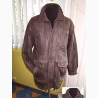 Тёплая кожаная мужская куртка PAOLO NEGRATO. Италия. Лот 545