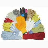 Спецодежда. Средства защиты рук (перчатки, рукавицв х/б, брезент)