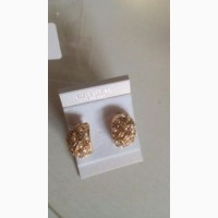 Великі кульчики з перлами/большие серьги с жемчугом
