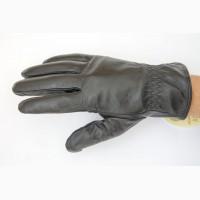 Перчатки мужские ( подросток) натуральная кожа, мех