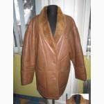 Натуральная женская дублёнка Genuine Leather. Турция. Лот 370