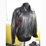 Стильная женская кожаная куртка - пилот DERICI Leather. Италия. Лот 466