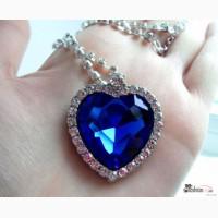 Кулон «Сердце океана», ожерелье Сердце (подвеска) с кинофильма Титаник