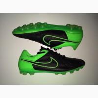 44.5 розм Nike Tiempo ПРОФИ футбольні бутси копочки не Adidas сороконожки