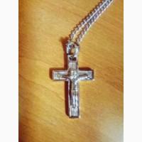 Продам крестик на цепочке под серебро в Одессе