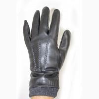 Перчатки мужские натуральная кожа, махра, разные модели