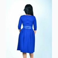 Сукні синього, морковного, темно-червоного та темно-зеленого кольорів/платья нарядные миди