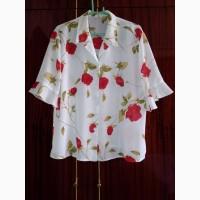 Блузка из шелка размер 54. Производство бренда ЄDЄN