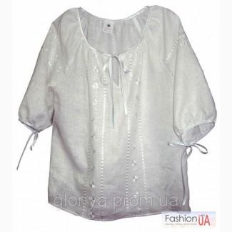 Как сшить блузку своими руками из льна 34