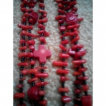 Ожерелье коралловое