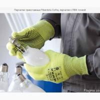 Перчатки трикотажные от порезов с с ПВХ точкой