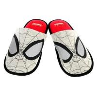 Комнатные тапки Человек паук MARVEL 42/43 красный-серый SH-370014