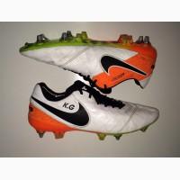 РОЗПРОДАЖ!!! 44.5 розм Nike Tiempo ПРОФИ футбольні бутси копочки не Adidas сороконожки