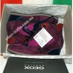 Ботинки женские замшевые фирмы Geox оригинал из Италии
