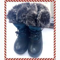 Сапоги (ботинки, сноубутсы) Kamik девочке, размер usa 11 eur 28