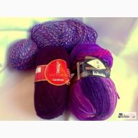Пряжа для вязания: шерсть, полушерсть