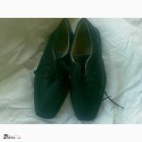 Туфли черные новые кожаные 34 - 35 размер