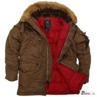Легендарные куртки Аляска Alpha Industries Slim Fit N - 3B Parka