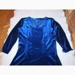 Нарядное бархатное платье