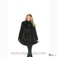 Норковая шуба модель халат доступная цена